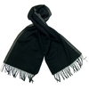 echarpe laine tissee noir rayure 2-min