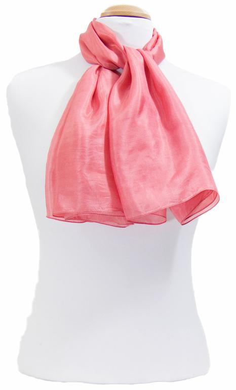 carré en soie rose   3