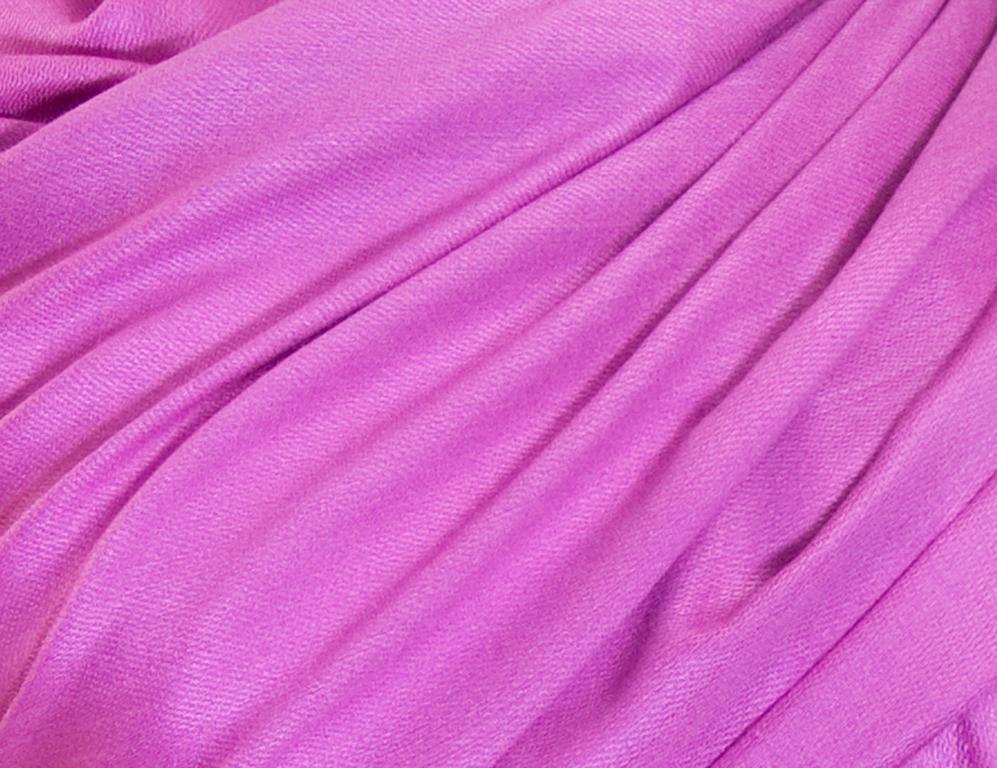 étole rose cyclamen pashmina sacha 3