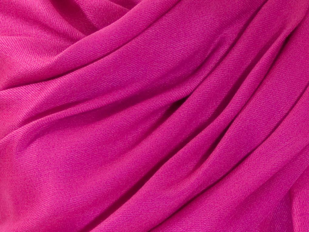 étole rose magenta pashmina sacha 4