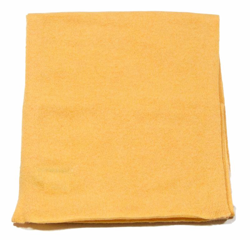 écharpe en cachemire jaune 3