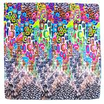 foulard carré de soie vert colorima 1-min