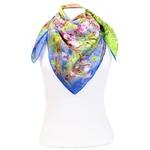 carré de soie printemps à Giverny  Claude Monet 2-min