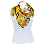 carré de soie le baiser détail Gistave Klimt 2-min