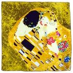 carré de soie le baiser détail Gistave Klimt 1-min