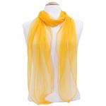 foulard orange  mousseline de soie 2