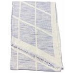 foulard bleu gris et or 4