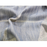 foulard bleu gris et or 5