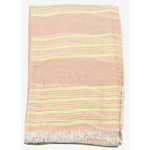 foulard taupe écru rayures or 4 (2)
