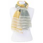 foulard kaki jaune or 2