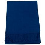 étole bleu marine cachemire laine charlie 1