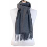 étole gris cachemire laine charlie 3