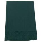 étole vert cachemire laine charlie 1