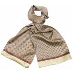 foulard soie homme écru lucas 1