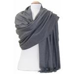étole gris cachemire laine charlie 5