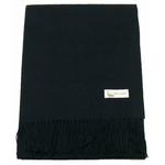 étole laine noir 1