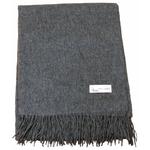 étole laine gris 2