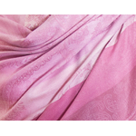 étole rose pashmina motifs rayures 4