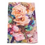 foulard écharpe soie rose flovina 1