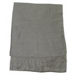 étole foulard taupe soie fine Alex 4