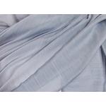étole foulard gris  soie fine Alex 3