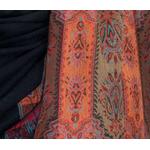 étole noir pashmina motifs 3