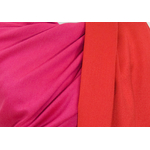 étole pashmina rouge fushia  réversible 5