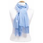 étole femme bleu ciel cachemire laine charlie 3