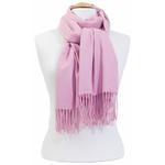 étole femme rose clair cachemire laine charlie 3