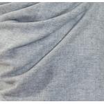 Etole cachemire laine gris clair 4