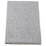 Etole cachemire laine gris clair 3