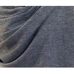 Etole cachemire laine gris fonce 3