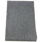 Etole cachemire laine gris fonce 4