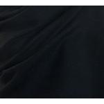 Etole cachemire laine noir 3