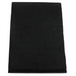 Etole cachemire laine noir 4