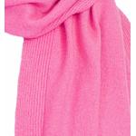 écharpe en cachemire rose blush 2