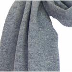 écharpe en cachemire gris foncé 2