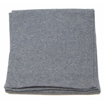 écharpe en cachemire gris foncé 3
