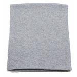 écharpe en cachemire gris clair 3