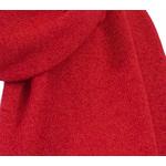 écharpe en cachemire rouge 2
