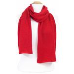 écharpe en cachemire rouge 1