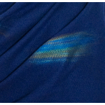 étole bleu marine cachemire laine plume 4