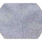 beret gris clair cachemire 3