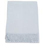 étole bleu gris femme cachemire laine 1