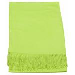 étole vert anis femme cachemire laine 1