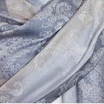 étole femme gris beige pashmina neila