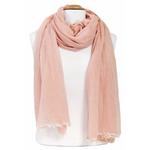foulard chèche  rose coton femme homme