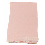 foulard coton rose femme homme