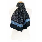foulard-en-soie-homme-noir-