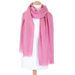 etole laine femme rose